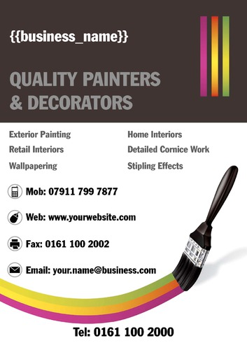 Painter A4 Posters