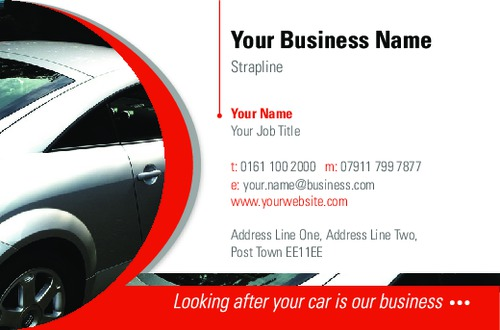 Car business card by brightstar creative ltd sane design car business card colourmoves