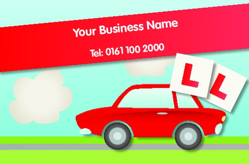 Car business card by printing edinburgh sdm w3p car business card colourmoves