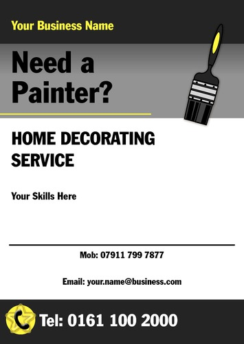 Painters And Decorators A5 Flyers