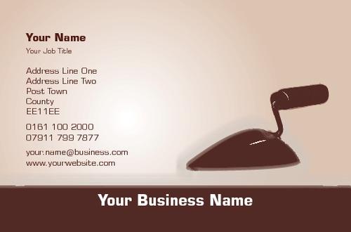 Online print templates printing plasterer business card flashek Choice Image