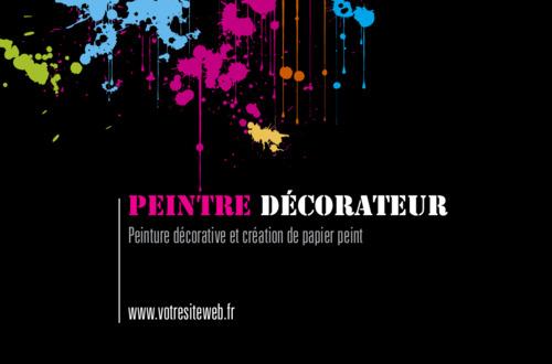 Peintres Et Dcorateurs Carte De Visite