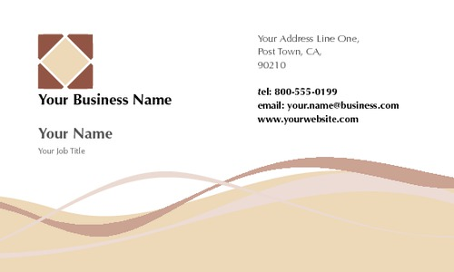 "Home Maintenance 2"" x 3.5"" Business Cards by Paul Wongsam"