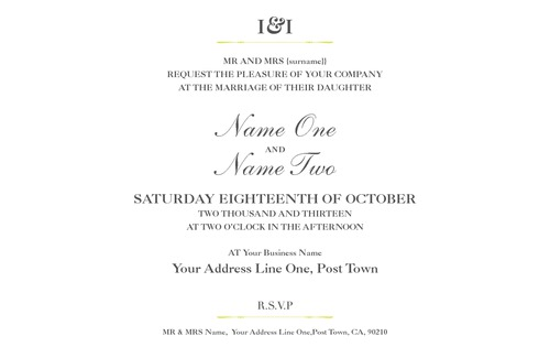 "5.5"" x 8.5"" Invitations by Alan Gunning"