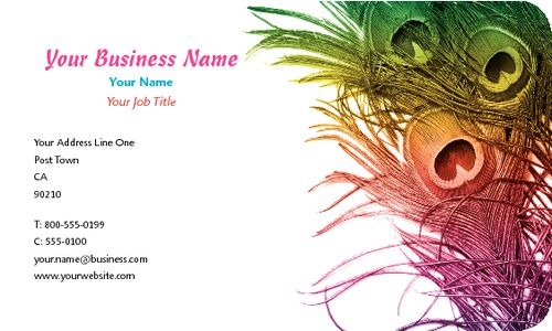 "Beauticians 2"" x 3.5"" Business Cards by Vaishali Patel"
