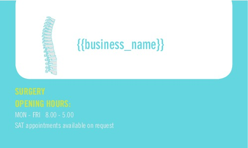 """Sports 2"""" x 3.5"""" Business Cards by C V"""