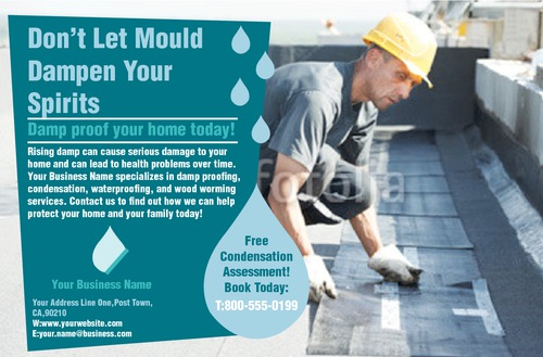 """Home Maintenance 5.5"""" x 8.5"""" Flyers by Rebecca Doherty"""