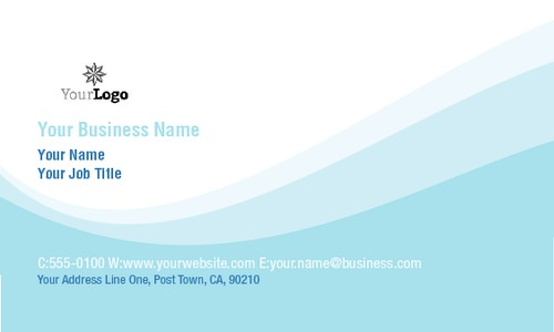 """Car Wash 2"""" x 3.5"""" Business Cards by Rebecca Doherty"""