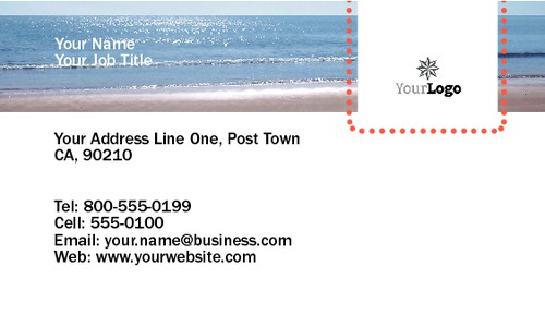 "Surfing 2"" x 3.5"" Business Cards by Neil Watson"