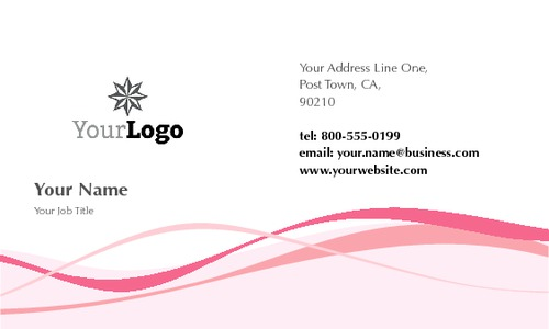"Beauty Salon 2"" x 3.5"" Business Cards by Paul Wongsam"