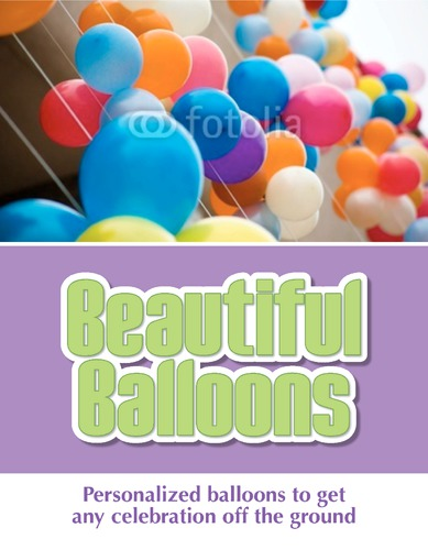 "Balloon Modellers 8.5"" x 11"" Flyers by Paul Wongsam"
