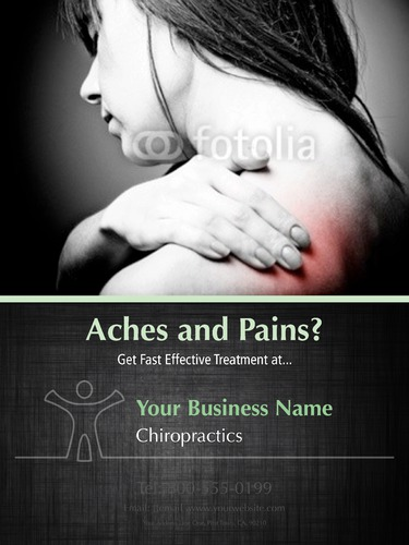 "Chiropractic 18"" x 24"" Poster Posters by Paul Wongsam"