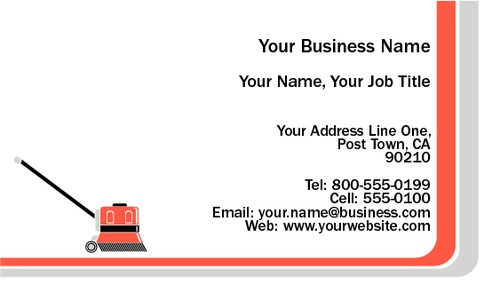 """Cleaners 2"""" x 3.5"""" Business Cards by Neil Watson"""