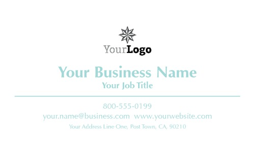 "2"" x 3.5"" Business Cards by TemplateCloud.com"