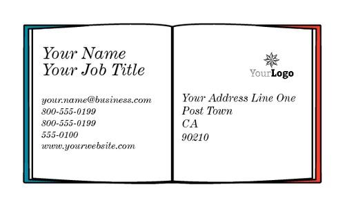 "Language Teacher 2"" x 3.5"" Business Cards by Daniel Fischer"