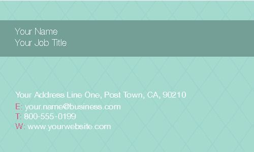 "Fashion 2"" x 3.5"" Business Cards by Ro Do"