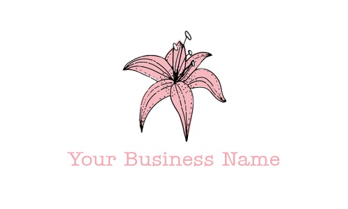 """Florist 2"""" x 3.5"""" Business Cards by Ro Do"""
