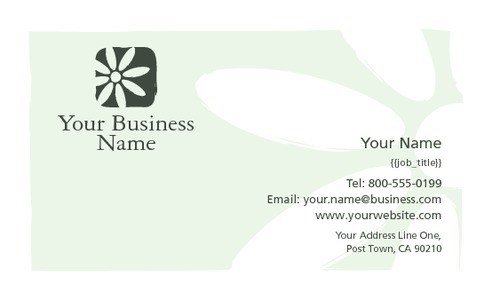 "Lawn Maintenance 2"" x 3.5"" Business Cards by Nick Wongsam"