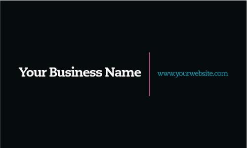 "Technology 2"" x 3.5"" Business Cards by Alan Gunning"