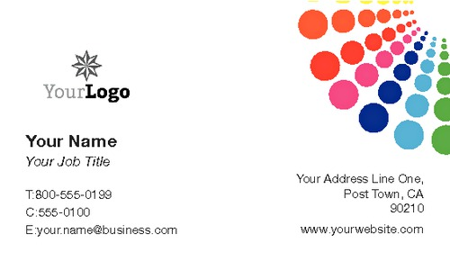 "Advertising 2"" x 3.5"" Business Cards by Lucy Colquhoun"