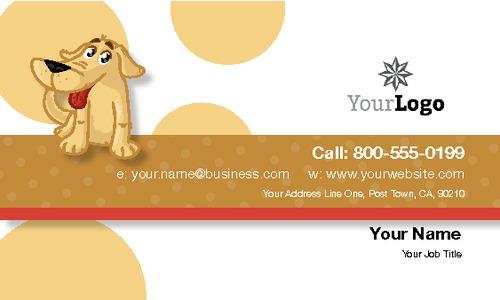 "Pet Care 2"" x 3.5"" Business Cards by Paul Wongsam"