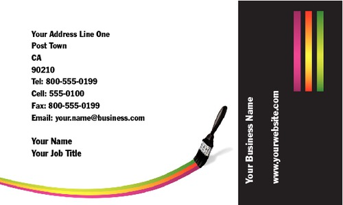 "Painter 2"" x 3.5"" Business Cards by Neil Watson"