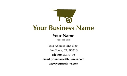 "Market 2"" x 3.5"" Business Cards by Paul Wongsam"