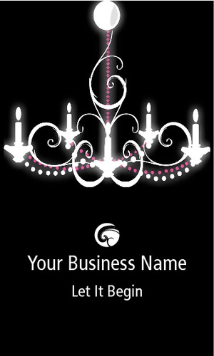"""Music 2"""" x 3.5"""" Business Cards by Laura Marples"""