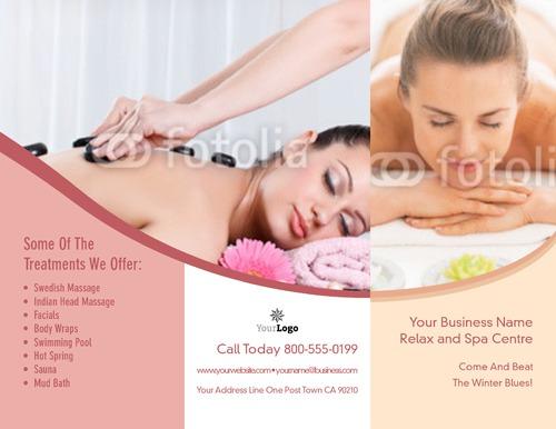 "Beauty Salon 8.5"" x 11"" Brochures by TemplateCloud.com"