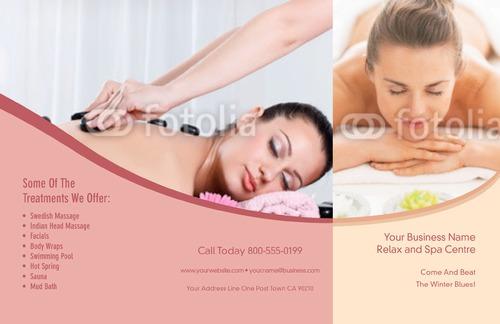 "Beauty Salon 11"" x 17"" Brochures by TemplateCloud.com"