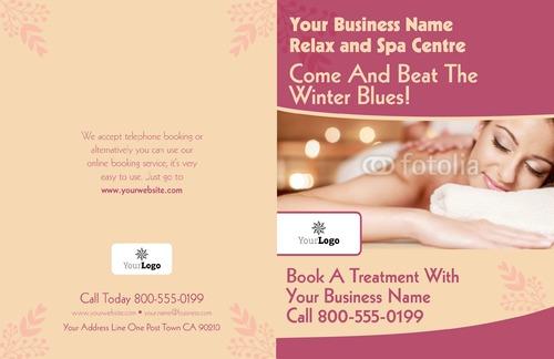 "Beauty Salon 11"" x 17"" Brochures by Ro Do"