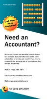Accountants 1/3rd A4 Leaflets by Templatecloud
