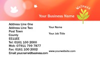 Beauty Salon Business Card  by Templatecloud