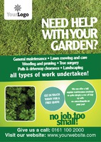 Gardening A5 Leaflets by Templatecloud