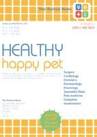Pet Care A4 Leaflets by Templatecloud