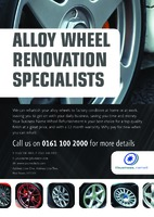 Automotive A4 Flyers by Templatecloud