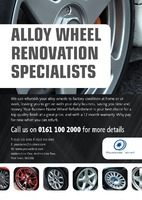 Automotive A5 Leaflets - Front