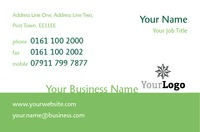 Football Business Card  by Templatecloud