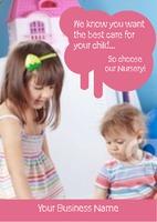Nursery A5 Flyers by Templatecloud