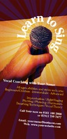 Vocal Coach 1/3rd A4 Leaflets by Templatecloud
