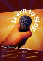Vocal Coach A5 Leaflets by Templatecloud