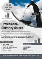 Chimney Sweeper A5 Leaflets by Templatecloud