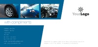 Car Dealers 1/3rd A4 Stationery by Templatecloud