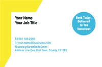 Skip Hire Business Card  by Templatecloud