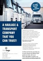 Logistics A4 Leaflets by Templatecloud
