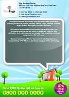 Home Maintenance A5 Flyers by Templatecloud