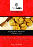 Takeaway A4 Leaflets by Templatecloud