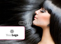 Hair A6 Leaflets by Templatecloud