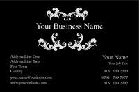Hair & Beauty Business Card  by Templatecloud