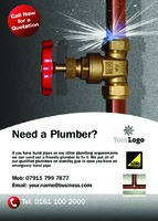 Plumbers A6 Flyers by Templatecloud